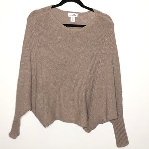 Shrinking Violet Cocoon Dolman Sweater Cotton